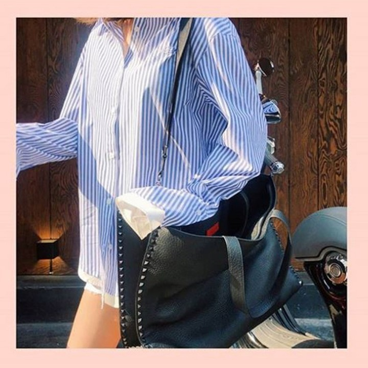 [강예원]Double layered cuffs shirts